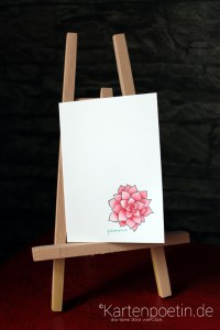 colorierte Blüte 2