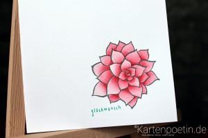colorierte Blüte 5