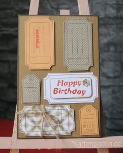 Geburtstagskarte für Männer I