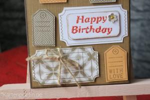 Geburtstagskarte für Männer V