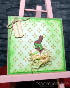 grüne Osterkarte I