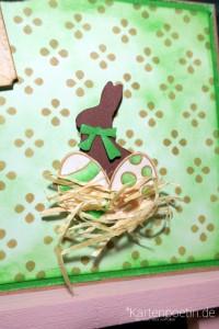 grüne Osterkarte V
