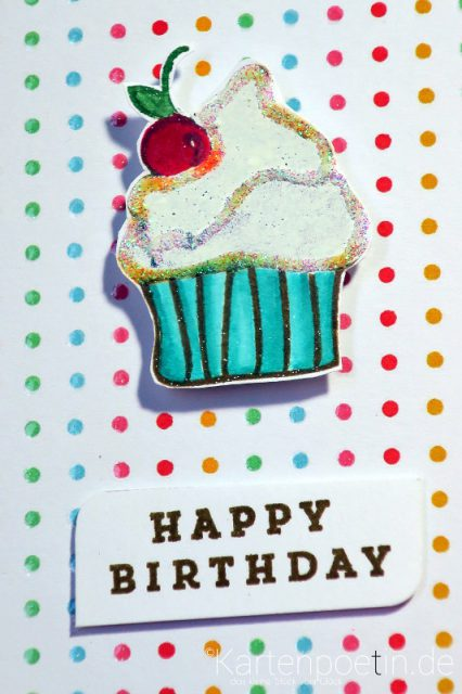 Geburtstagskarte Muffin II