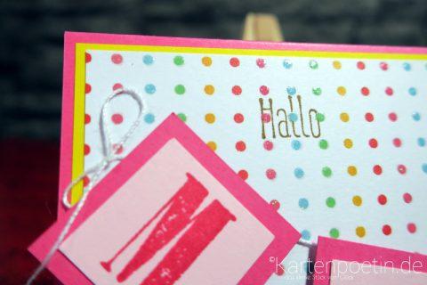 Babykarte mit Namen II