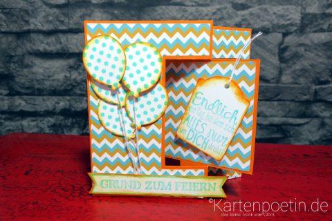 House Mouse Geburtstagskarte als Flipcard I