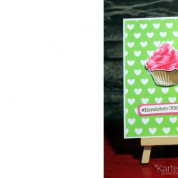 Muffin Glückwunschkart