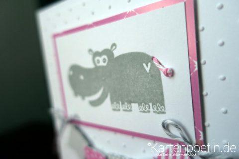 Nilpferd Babykarte I