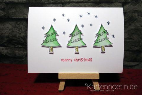 Oh Tannenbaum... Weihnachtskarte