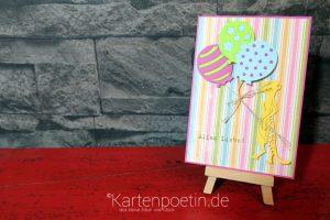 Geburtstagskarte mit Erdmännchen