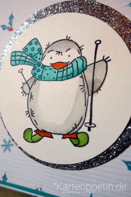 Pinguin Party Weihnachtskarten