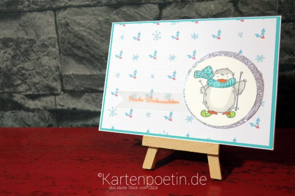 Pinguin Party – Weihnachtskarten