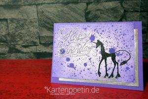 Einhorn Geburtstagskarte – Designteam-Beitrag Anne Fusselchen