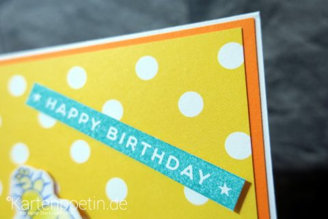 Geburtstagskarte Kakteen